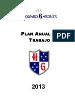 Plan Anual de Trabajo 2013