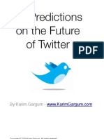 10 Twitter Predictions