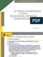 Www.aragon.es Estaticos ImportFiles 05 Docs Areas SeguridadIndustrial EquiposPresion InformacionInteres ITC EP6 RECIPIENTES PRESION TRANSPORTABLES