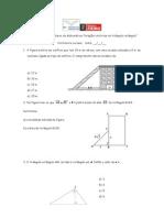 Atividades relações métricas e trigonométricas no tri retângulo