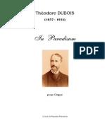 In Paradisum by Dubois