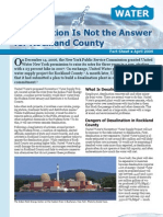 Desalination Is Not the Answer for Rockland County