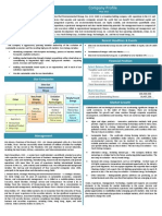 Company Profile (DINE)