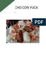 Chancho Con Yuca