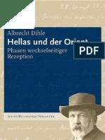 Dihle-Hellas Und Der Orient (2009)