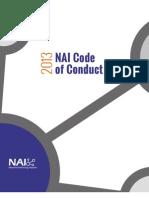 NAI 2013 Principles