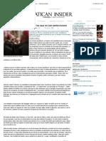 «Escojan a los obispos entre los que no son ambiciosos» - Vatican Insider.pdf