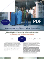 Introduction to Global Urban Education Brochure