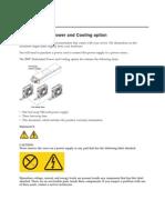 IBM Redundant Power and Cooling Option