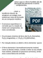 CORROSÃO-ESTRUTURAS