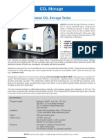 Polyurethane Insulated CO2 Storage Tanks