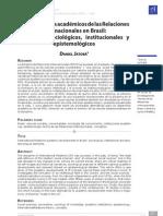 JATOBÁ (2013) - Los desarrolos académicos de las RRII en Brasil (VERSIÓN PUBLICADA)
