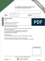 Computer Question Paper
