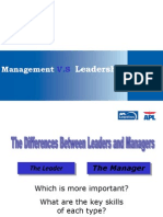 Management v.S Leadership