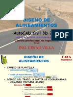 01 DISEÑO  DE ALINEAMIENTOS 2012