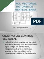 Control Vectorial de Motores de Corriente Alterna.
