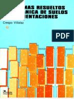 97753896 Problemas Mecanica de Suelos y de Cimentaciones Crespo Villalaz