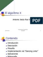AlgoritmoX