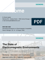 Siemen the state of electromagnetic
