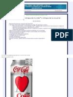 Un Informe Completo Sobre La Coca-Cola Para Leer y Difundir - Coca-Cola La Chispa de La Vida o La Chispa de La Muerte