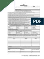 APN 1- Análise Preliminar Nível 1 CAMINHÃO TUBULAÇÃO