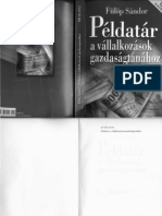 Dr. Fülöp Sándor - Példatár a vállalkozások gazdaságtanához 2012 kiadás
