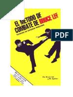Lee, Bruce & Uyehara, Mito - El método de combate de Bruce Lee. Técnicas de defensa personal