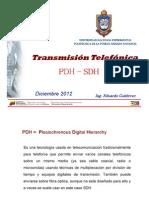 Tema 4 - Transmision Telefonica PDH y SDH pdf.pdf