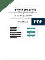 OptiSwitch 900 Series User Manual [ML49175A, L2+ Ver. 2.1.6A, L3 Ver. 3.1.4, Rev. 09]_d48