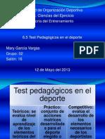 Test Pedagogicos Teoria