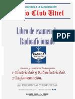 Libro de Examen de Radioaficionado