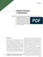 Hepatitis Fulminante y Subfulminante