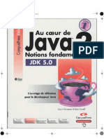 Au Coeur de Java 2 - Volume 1- Notions Fondamentales {9782744018336}