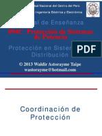 Unidad 4 - Protección en sistemas de distribución 2013