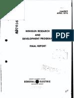 Minigun Research Program