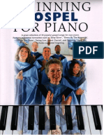 Beginning Gospel for Piano Easy Piano