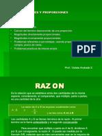 Razones y Proporciones