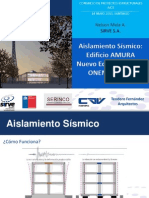 AICE Aislamiento Sismico AMURA ONEMI Nelson Mela