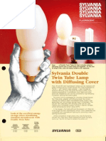 Sylvania Double Twin Tube Lamp and Cover Bulletin