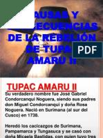 Rebelion de Tupac Amaru II