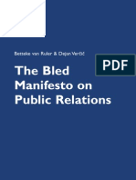 Bled Manifesto