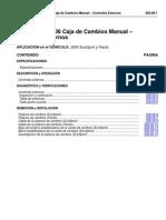 Caja de Cambios Manual Controles Externos
