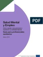 Salud Mental Empleo GuiaProfesionalesSanitarios
