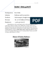 Railway Workshop Training Report