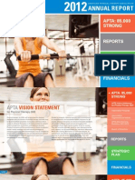 2012 Annual Report of the American Physical Therapy Association