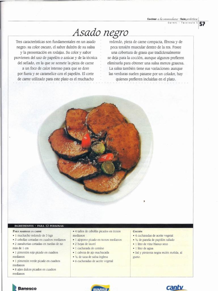 receta de asado negro muchacho redondo