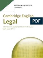 시험종류 캠브리지 ILEC LAW 21850-cambridge-english-legal