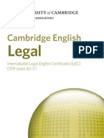 시험종류 캠브리지 ILEC LAW 21850-cambridge-english-legal