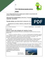 Ficha 1 La Noticia
