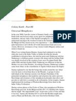 Colony Earth - Part III